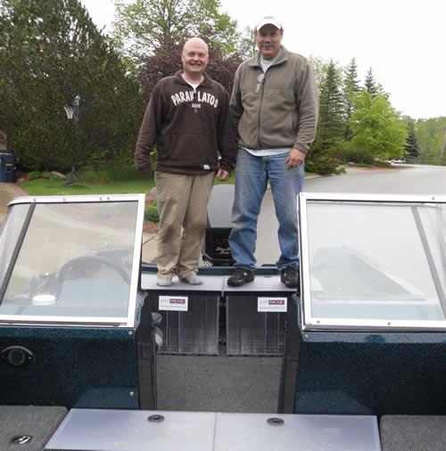 1992 Ranger 692 Tandem Deck Box and Front Angle Box