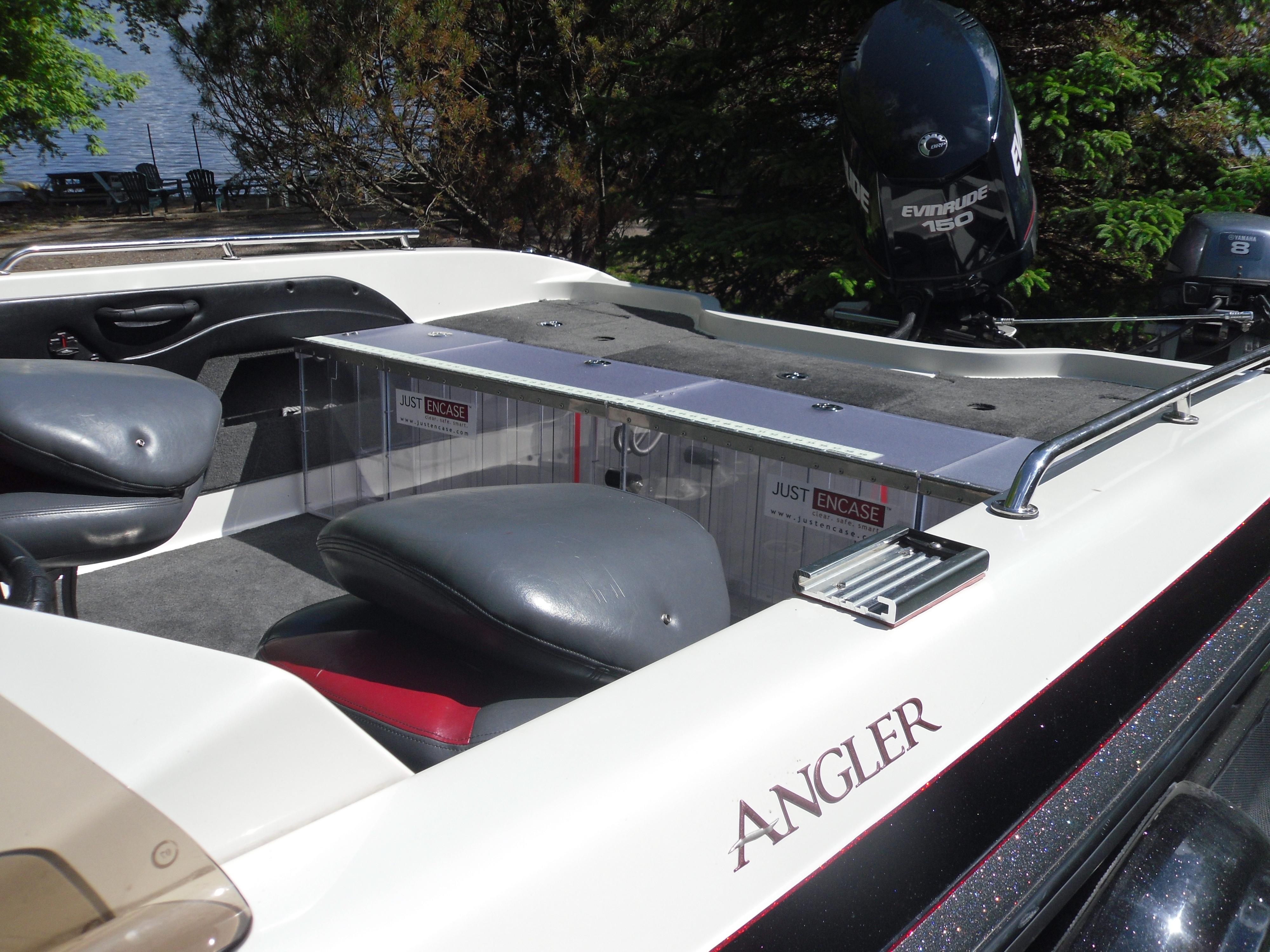 2008 Ranger Angler 1860 Tandem Back Deck Box 10
