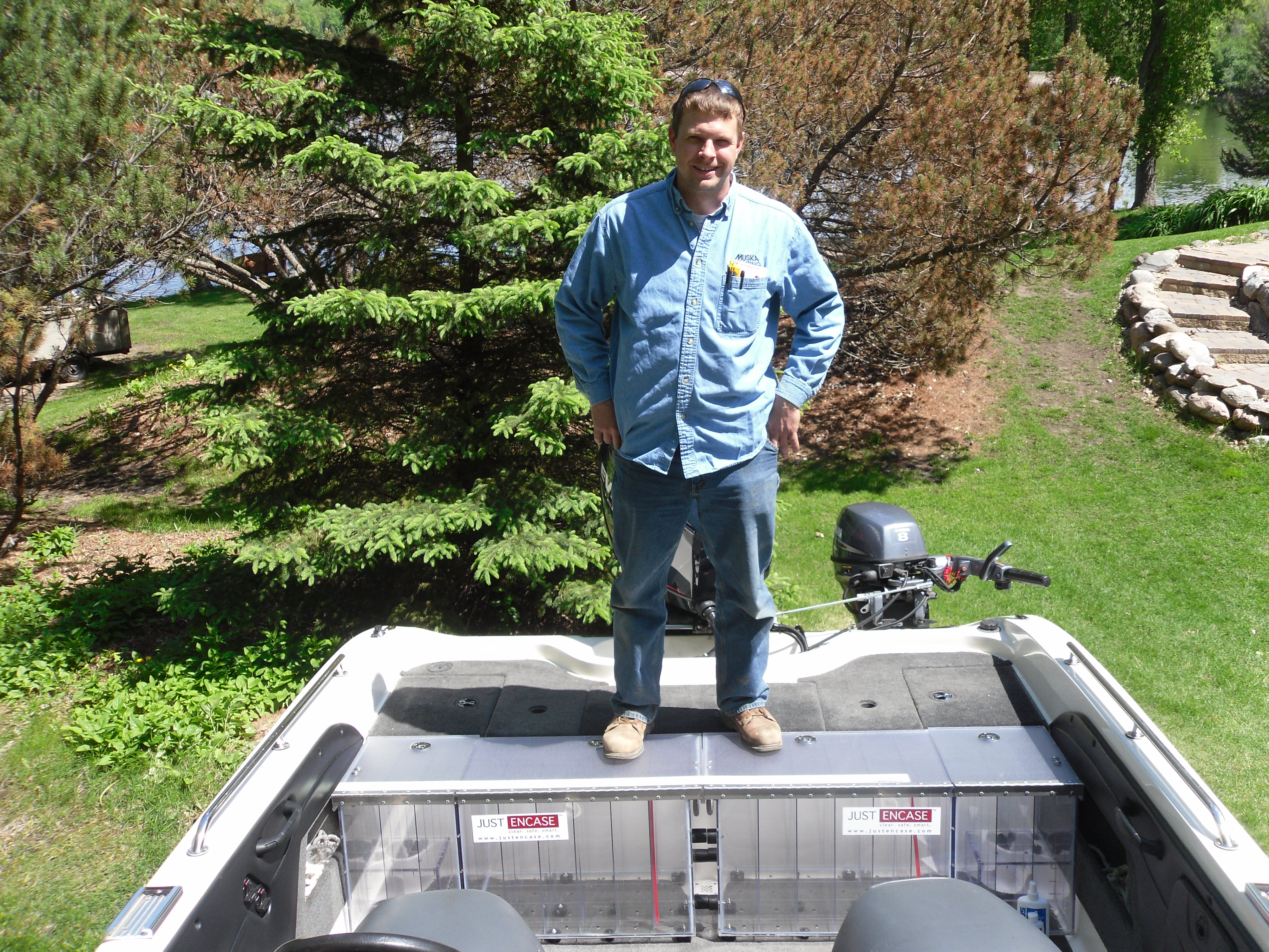 2008 Ranger Angler 1860 Tandem Back Deck Box 11