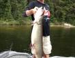 Ranger 621VS Deck Box Greg Gholding large musky 6-19-13